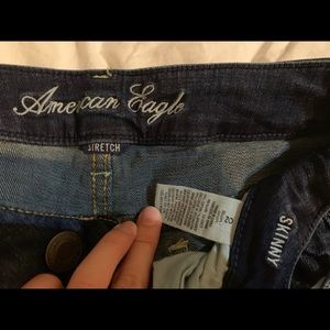 American Eagle Low Rise Skinny jeans